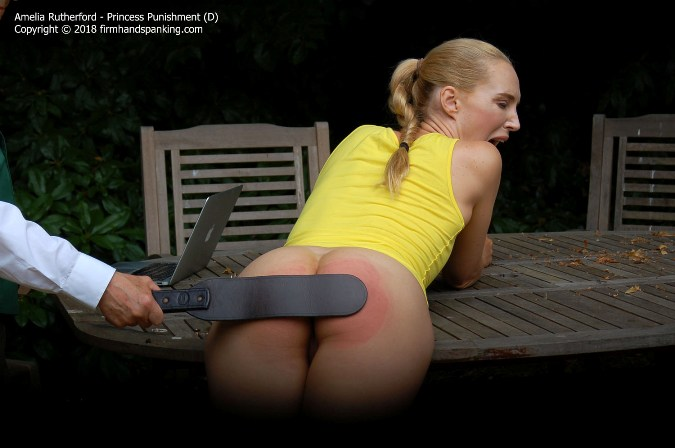 Surprise Strapping For Future Princess Amelia Rutherford - HD 1280x720 Video