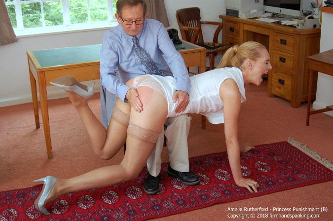 Complaining About Being Spanked Earns Amelia Rutherford - HD 1280x720 Video