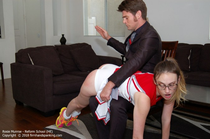 Rosie Munroe A Long Over-The-Knee Spanking - HD 1280x720 Video