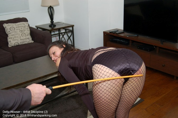Eye-Watering 15-Stroke Finale Caning - HD 1280x720 Video