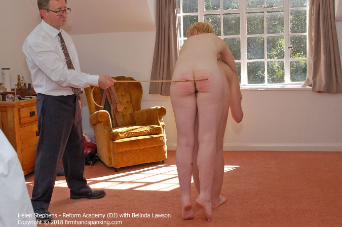 Helen Stephens Is Lifted On Belindas Back For The Cane - HD 1280x720 Video