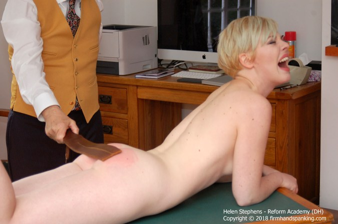 Helen Stephens Has Her Bottom Leathered - HD 1280x720 Video