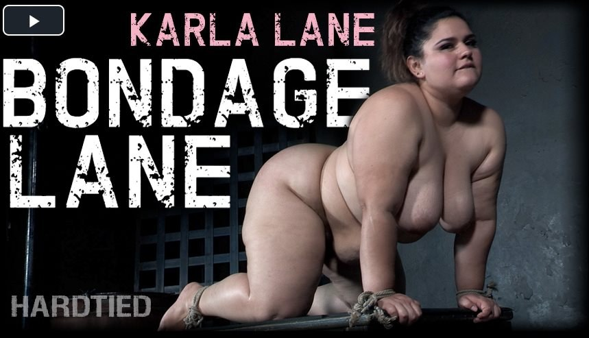 Karla Lane - Karla gets her share of Hard ties