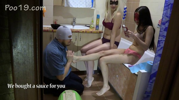 Christina and Victoria - Sandwich with crap from 2 beautiful girls (2019 / FullHD 1080p)