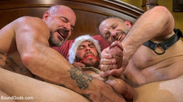 BoundGods - Homo Alone, Part One - Vander Pulaski Taken Down in Home Invasion (with Dirk Caber, Jack Dyer)