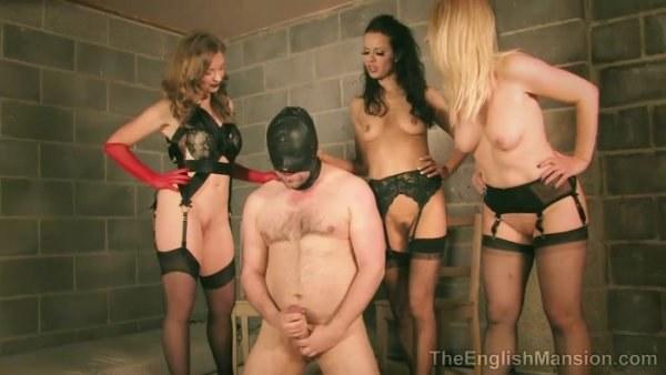 Miss Kinky Dirty Bitch, Mistress Sidonia, Mistress T - Fucked Up Fag Boy Complete Film