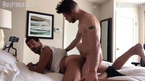 Deepthroatxxxxl - Joe Roscoe fucks both my ends in Los Angeles
