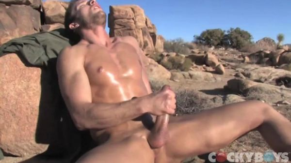 CB - Kevin Crows Blows His Load in the Mountains