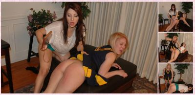 SpankingSororityGirls – Episode 8: Kat & Karina Spank Each Other