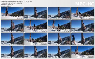BondageLife - Winter Wonderland Flogging - 12/30/2019