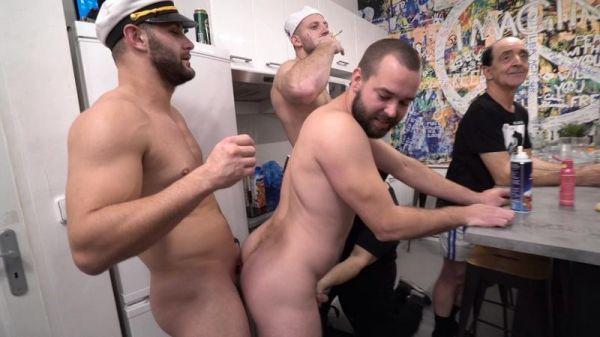 CBBs - 30 Guys Sperm Party Scene 3