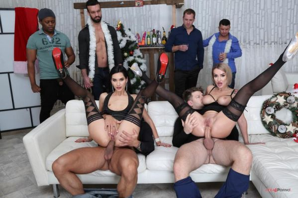 Megan Venturi, Ellen Million - LegalP0rno - New Year's Eve 2019 #2 Megan Venturi & Ellen Million Party with Balls Deep Anal, DAP, Cum Swallow GIO1318 (HD 720p) [2019]