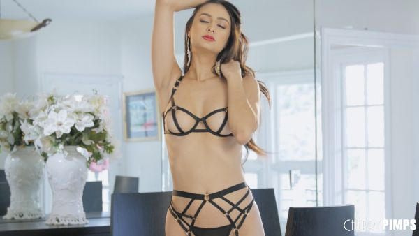 Eliza Ibarra - Showing It All In Her Strappy Lingerie