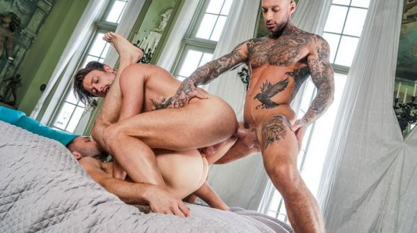LE - Drew Dixon And Edison Fuller Service Dylan James - Tearing Up Some Ass