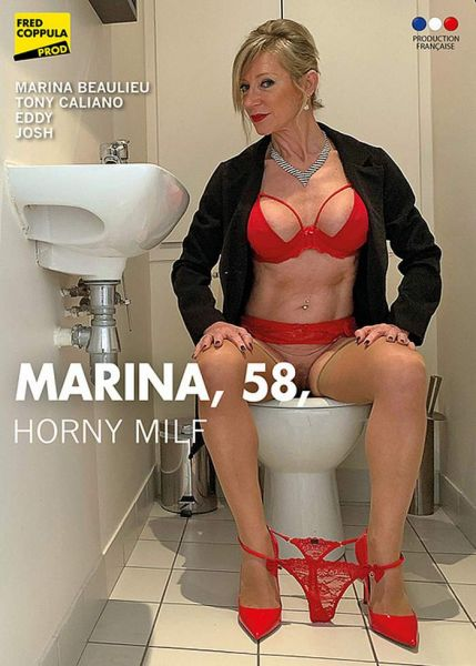 Marina, 58 Horny MILF - Marina, 58 ans, MILF coquine (2019 / HD Rip 720p)