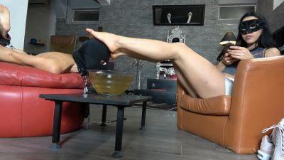 Mistress Gaia – Hogtied Foot Rest – Hd