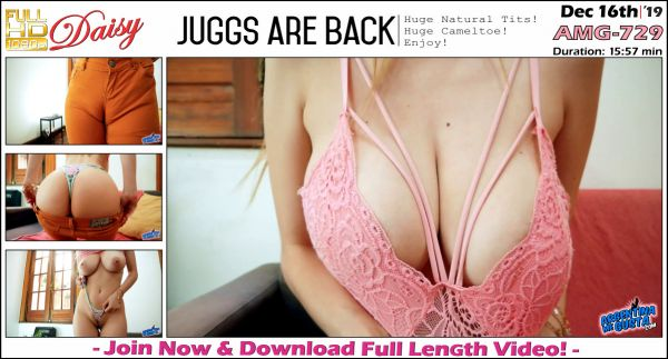Daisy - Juggs Are Back - AMG-729 (16.12.2019) [FullHD 1080p] (ArgentinaMegusta)