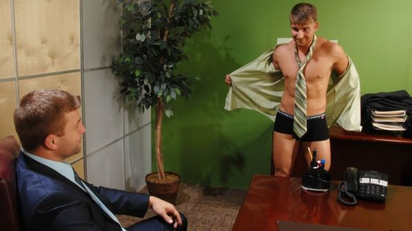 MN - The Gay Office - The Ceo's Office - Colby Jansen & Logan Vaughn