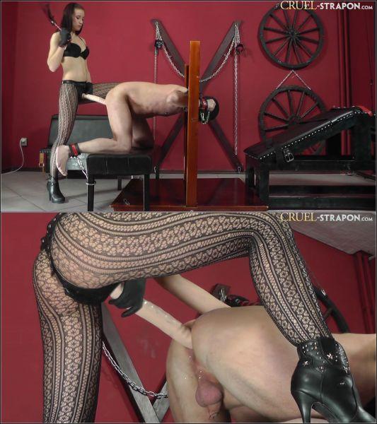 Mistress - Unbearably Big Cock [HD 720p] (Cruel-Strapon)