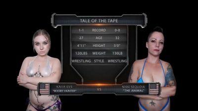 EvolvedFightsLesbianEdition – Nikki Sequoia vs Kaiia Eve
