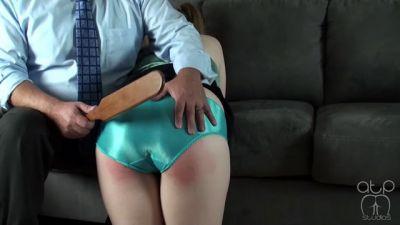 Silky Panty Paddling – Proper Panties – 4