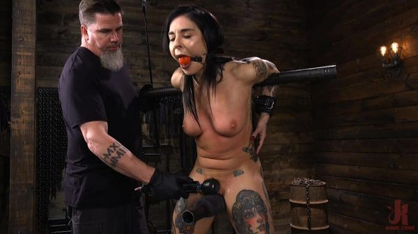Joanna Angel Tattooed Slut Made to Cum in Grueling