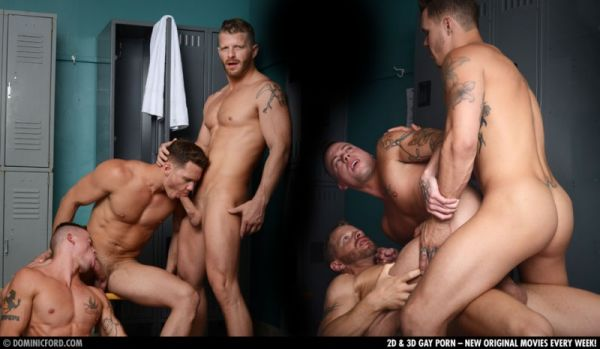 DF - Spotlight - Sean Duran, Tate Ryder And Jeremy Stevens