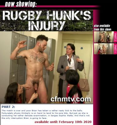 CfnmTV – Rugby Hunk's Injury Part 2