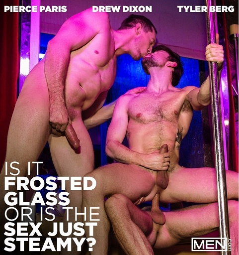 MN - Pierce Paris, Drew Dixon, Tyler Berg - Is It Frosted Glass or Is the Sex Just Steamy