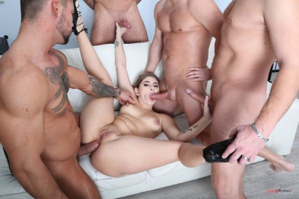 Julia Red - 4on1 Classic with Julia Red, Balls Deep Anal, DAP, Farts and Swallow GIO1354 [HD 720p] (LegalP0rno)