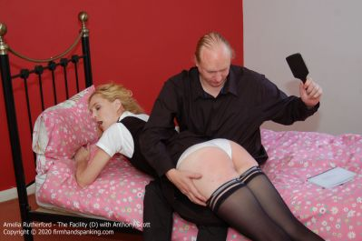 FirmHandSpanking – Amelia Rutherford – The Facility – D