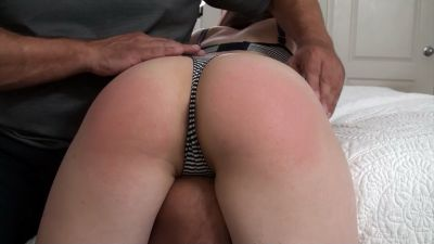 Somebody likes their Spankings – Spanked, Fingered, Forced Orgasm