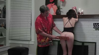 Dallas Spanks Hard- Hailey Triple Play 3 – Cuffed And Paddled