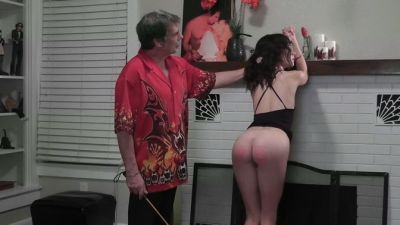 DallasSpanksHard – Hailey Triple Play 2 – Second Caning