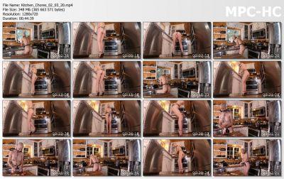 Bondage Life - Kitchen Chores Rachel Greyhound
