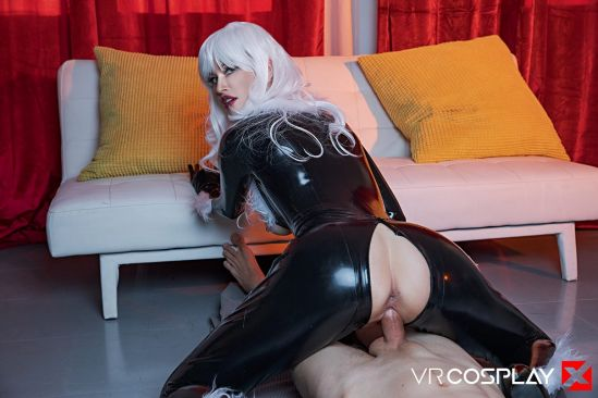BLACK CAT A XXX PARODY - Gear Vr 60 Fps