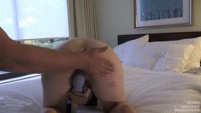 Apricots Masturbation While being Spanked Fantasy