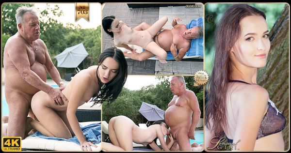 Sasha Sparrow - №703 Refreshing Fuck By The Pool [FullHD 1080p] (Young)