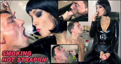 Smoking Hot Strapon –