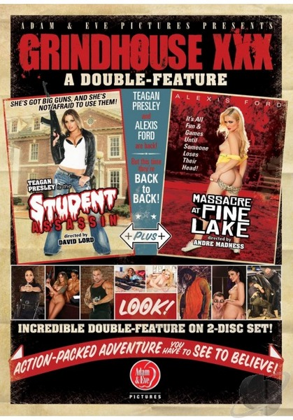 Grindhouse XXX: A Double Feature (HD Rip 720p) Cover