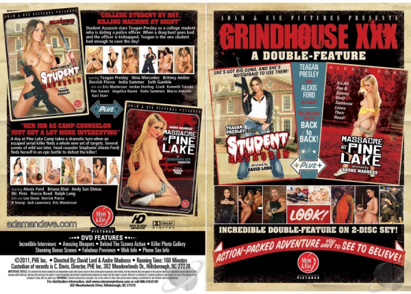 Grindhouse XXX: A Double Feature (Year 2011 / HD Rip 720p)