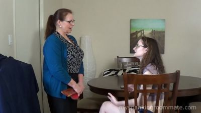 MySpankingRoommate – Episode 338: Luci Spanked For Rent Problems
