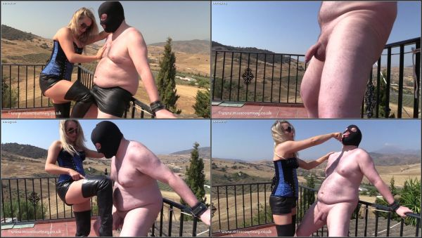 Ballbusting In The Sun [FetishManiaOrg] Mistress Courtney (1.2 GB)
