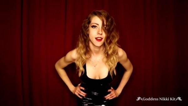 Goddess Nikki Kit - Steamy CEI From a Mistress in a PVC Dress