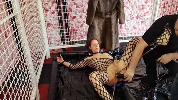 Lucia - Gigantic dildo fucking BDSM (15.02.2020) (HD/2020) by Sicflics