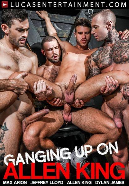 LE - Allen Kings 4-Man Gang Bang - Dylan James, Jeffrey Lloyd, Max Arion
