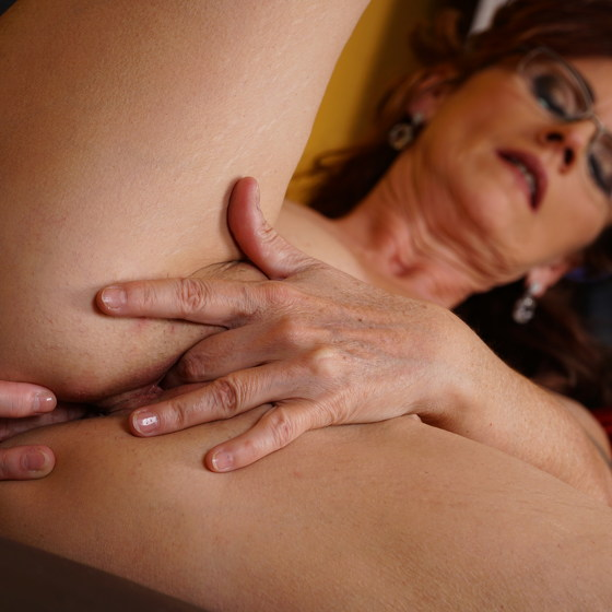 Naughty mature Irena is frisky and loves