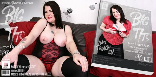 Big breasted mature DeeDee loves playing