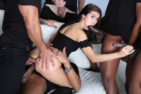 LegalP0rno - Masked Looters Vs Nicole Black Balls Deep Anal, Manhandle, Gapes, Facial GIO1323 with Nicole Black (HD/720p) [2020]