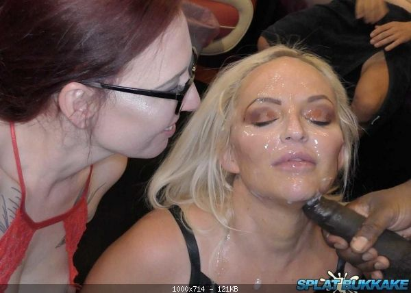 Louise Lee, Sexy Cleo - Louise Lee takes more cum in her face